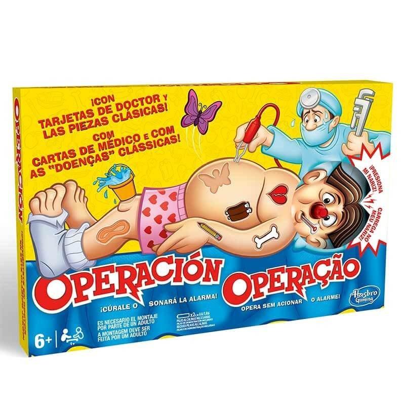 """jogo de tabuleiro """"operação"""""""