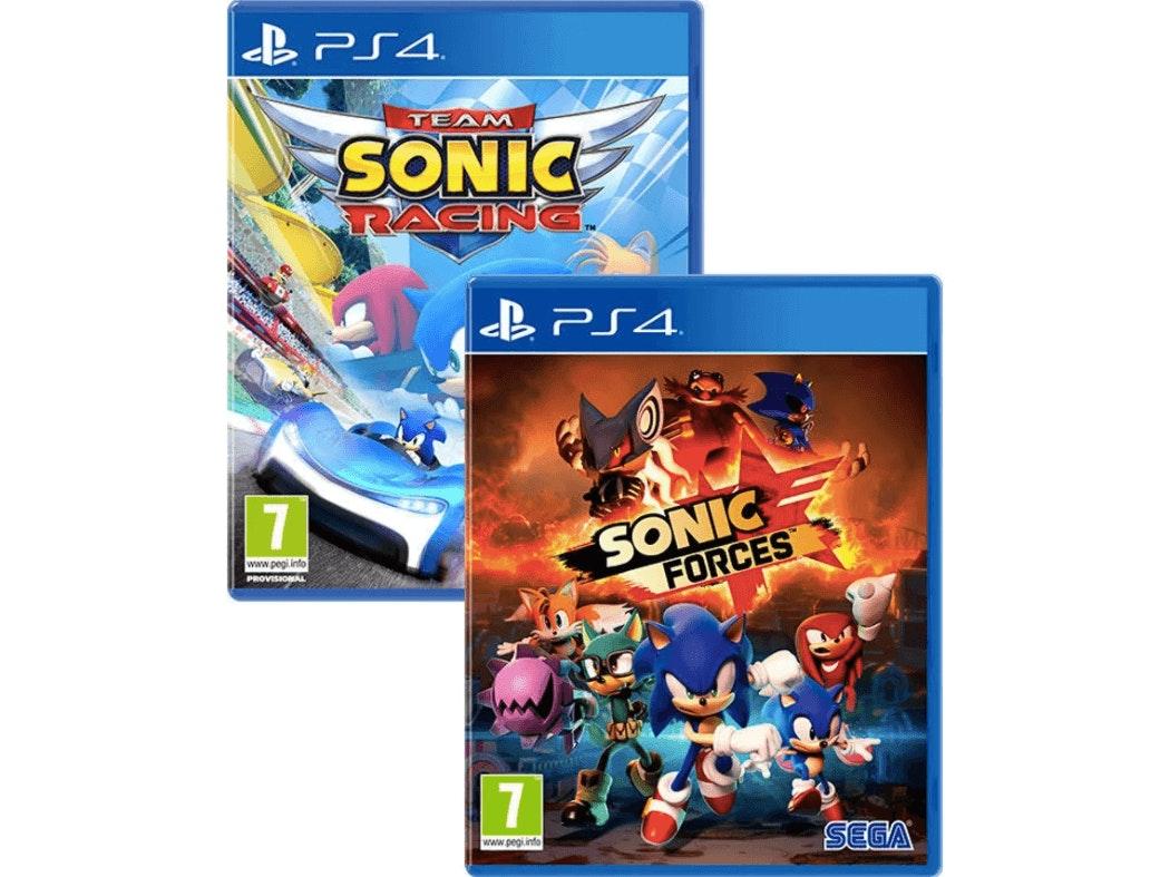 pack 2 jogos do sonic para a PS4