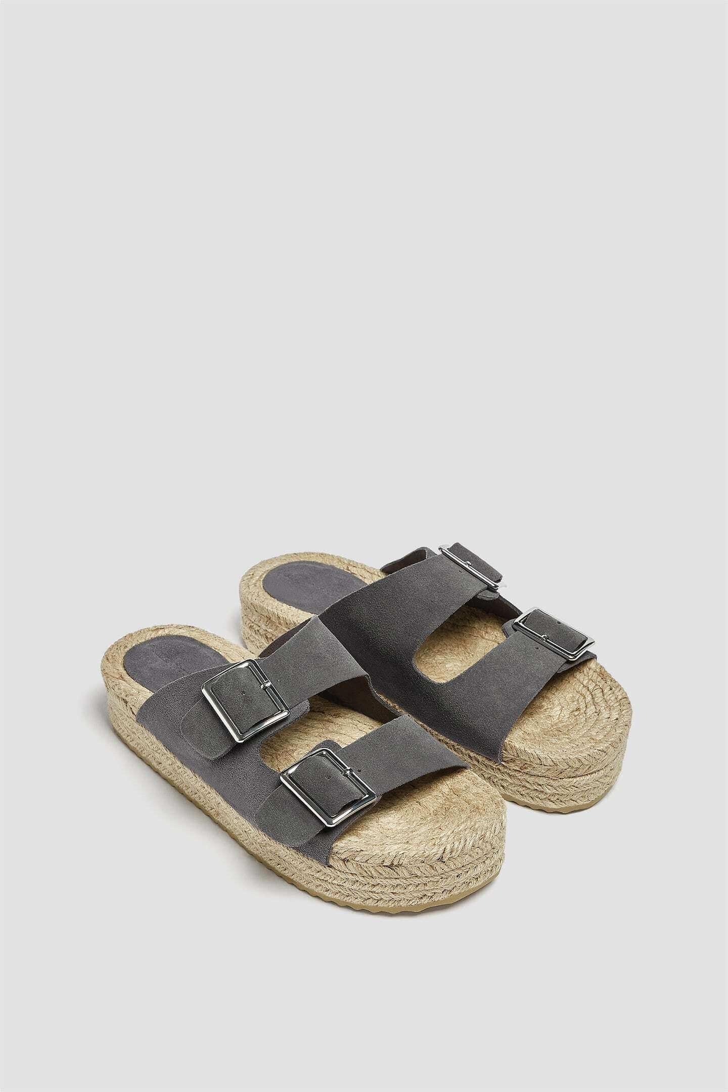 sandálias pull & bear