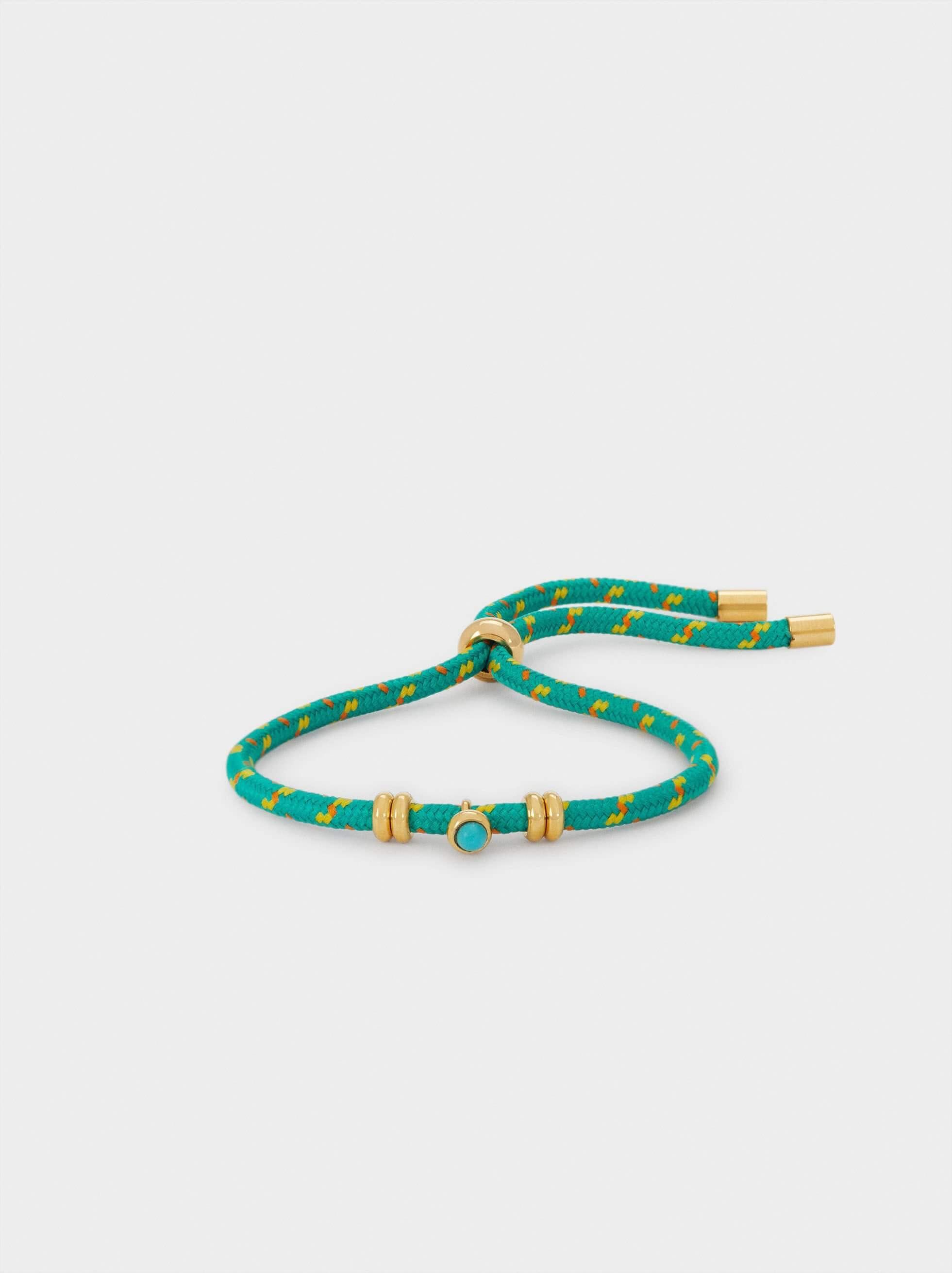 pulseira de pé verde ajustável da parfois